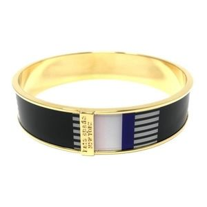 Kate Spade Cruise Stripe Paper Bangle